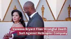 Vanessa Bryant Sues [Video]