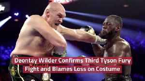 Deontay Wilder Wants Another Fight [Video]