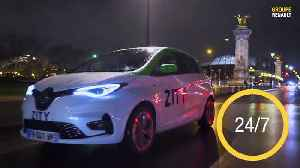 Groupe Renault and Ferrovial launch ZITY in Paris [Video]