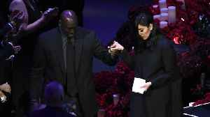 Celebrities uplift Vanessa Bryant after eulogizing her late husband and daughter [Video]
