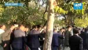 Delhi kids shout 'Indira Gandhi' as they spot Priyanka during peace marc [Video]