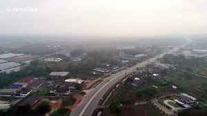 Aerial footage shows thick clouds of air pollution choking parts of Thailand [Video]