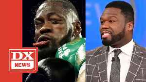 50 Cent In Disbelief Following Deontay Wilder's Loss To Tyson Fury [Video]