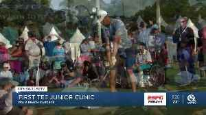 First Tee of the Palm Beaches junior golf clinic [Video]