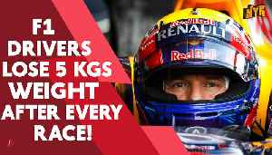Why do Formula 1 driver lose weight during each race [Video]