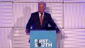 Biden says 'I'm a Democratic candidate for the United States Senate' [Video]