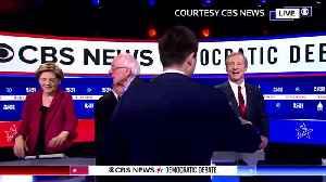 "Democrat candidates call Sanders ""risky choice"" [Video]"