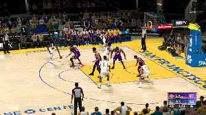 LA Lakers vs Golden State Warriors predicted on NBA2k!