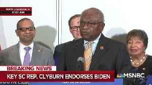 Rep. Jim Clyburn Endorses Joe Biden [Video]