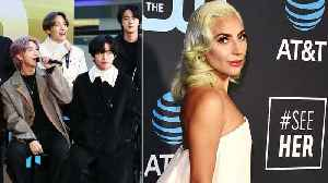 BTS Takes Over 'The Tonight Show', Lady Gaga Announces New Single 'Stupid Love' & More | Billboard News [Video]