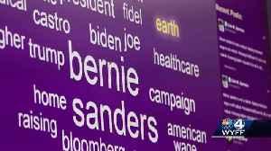Clemson University's Social Media Listening Center monitors talk online about presidential candidates [Video]