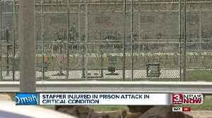 Staffer injured in Nebraska State Penitentiary attack in critical condition [Video]