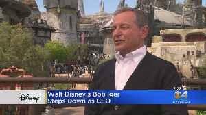 Walt Disney's Bob Iger Steps Down As CEO [Video]