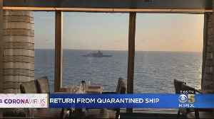 Alameda Woman Talks About Her Ordeal Aboard Quarantined Cruise Ship [Video]