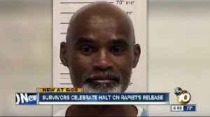 Survivors celebrate halt on 'Bolder than Most Rapist' release [Video]