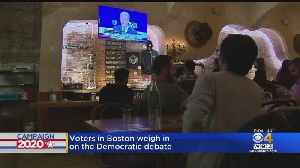 Boston Voters Weigh In On Fiery Democratic Debate [Video]