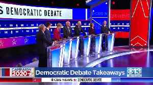 Democratic Debate Takeaways [Video]