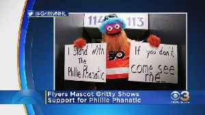 Gritty Defends Phillie Phanatic's New Look [Video]