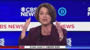 Amy Klobuchar Warns In-Fighting Will Lead To Trump Winning In November [Video]
