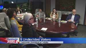 Colorado Undecided Voters Watch Democratic Debate From CBS4 Denver [Video]