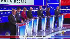 7 Candidates Fight To Be Heard In Democratic Debate [Video]