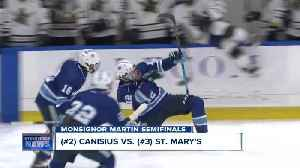 St. Joe's and St. Mary's to play for WNY ice hockey Catholic Championship [Video]