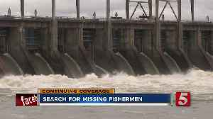 Search for missing fishermen at Pickwick Dam enters day 3 [Video]