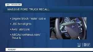 Ford recalls popular F-150 pickup to fix headlamp problem [Video]