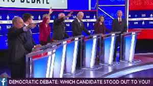 'The 7:34': February 26, 2020 - Presidential Debate [Video]