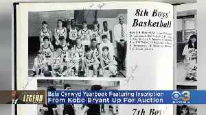Bala Cynwyd Yearbook Featuring Inscription From Kobe Bryant Up For Auction [Video]