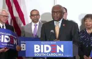 South Carolina Rep. Clyburn endorses Biden before primary