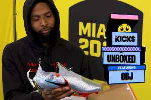 When LeBron Wore OBJ's Cleats [Video]