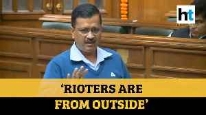 'There are 2 options now..': Arvind Kejriwal on violence in north-east Delhi [Video]