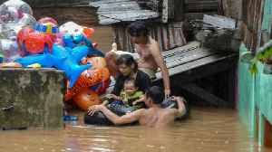 Indonesians slam government over flood response [Video]