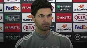 Arteta confident ahead of Olympiacos second leg [Video]