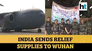 WATCH: IAF's C-17 aircraft with relief supplies flies off to coronavirus-hit Wuhan [Video]