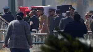 Egypt holds military funeral for former leader Hosni Mubarak [Video]