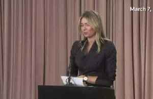 Former No. 1 player Sharapova retires from tennis