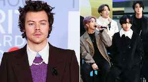 Harry Styles' Big Tour Announcement, BTS Cover Bruno Mars & More   Billboard News [Video]