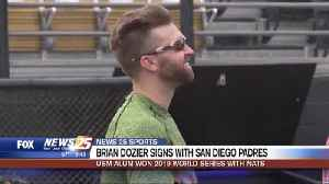 USM Alum Brian Dozier signs with San Diego Padres [Video]