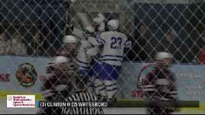 2-25-20 SCORES: Whitesboro boys hockey advances to Section III final; Whitesboro boys hoops upset [Video]
