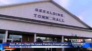Geraldine Assistant Police Chief [Video]