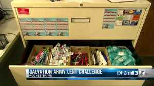 Salvation Army Lent Challenge