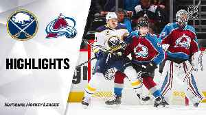 NHL Highlights | Sabres @ Avalanche 2/26/2020 [Video]