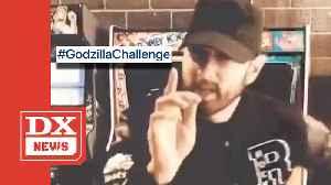 Eminem Launches #GodzillaChallenge On Social Media [Video]