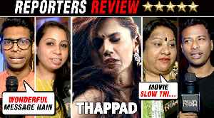 Thappad Movie ⭐⭐⭐ FIRST HONEST Reporters Review _ Taapsee Pannu, Anubhav Sinha [Video]