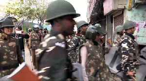 Thousands of paramilitary police deployed in New Delhi after deadly riots [Video]