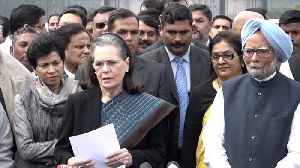 Sonia slams BJP, AAP for Delhi violence,  asks for Shah's removal,  urges President to act [Video]