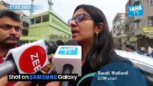 DCW chief Swati Maliwal visits violence hit areas in NE Delhi [Video]