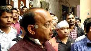 Goel meets slain IB man Ankit Sharma's family, says no one involved will be spared [Video]